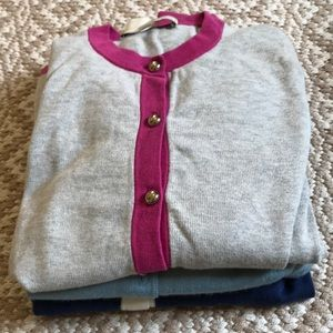 Lot of 3 Coach Cardigans